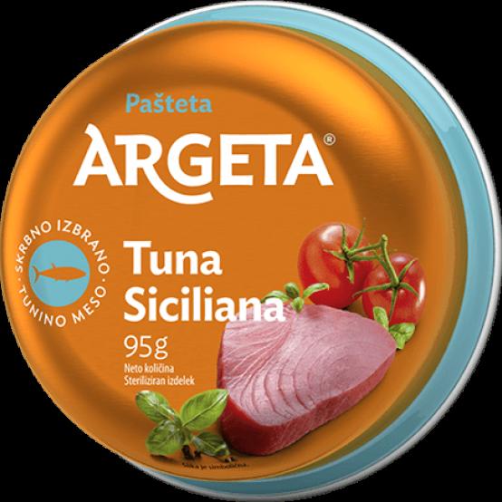 Sicilianos tuno paštetas ARGETA,95g