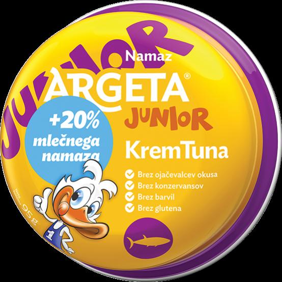 Kreminis tuno paštetasJUNIOR ARGETA, 95g