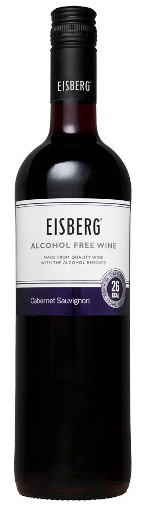 Raudonasis nealkoholinis vynas Eisberg Cabernet Sauvignon 0,05% 0,75l