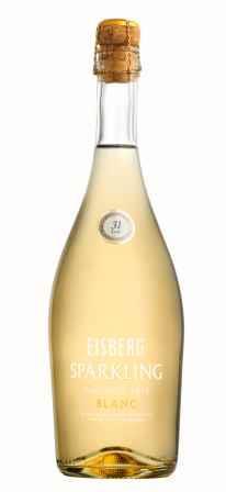 Baltasis nealkoholinis putojantis vynas Eisberg Sparkling Blanc 0,05% 0,75l