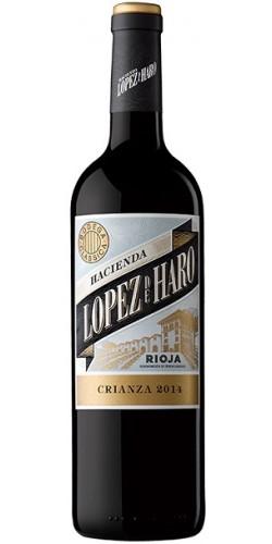 Vynas Hacienda Lopez de Haro Crianza Rioja 13,5% 0,75l