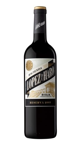 Vynas Hacienda Lopez de Haro Reserva Rioja 13,5% 0,75