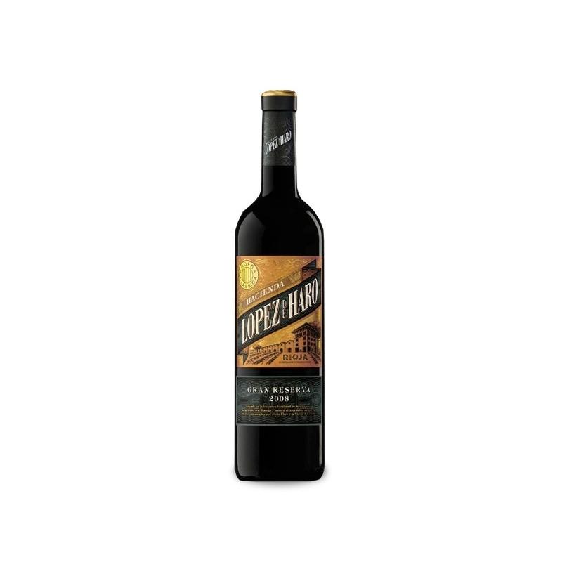Vynas Hacienda Lopez de Haro Gran Reserva Rioja 13,5% 0,75l