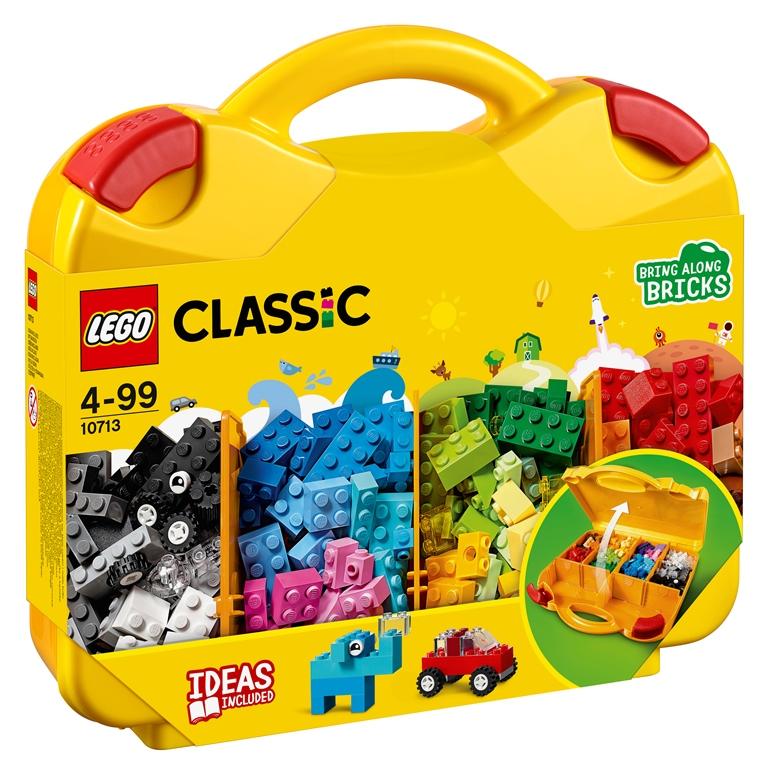 Konstruktorius LEGO CLASSIC Kaladėlių lagaminas vaikams nuo 4 metų (10713)