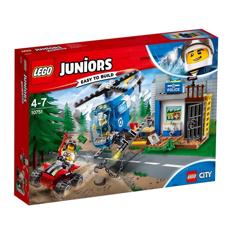 Konstruktorius LEGO JUNIORS Kalnų policijos gaudynės (10751)