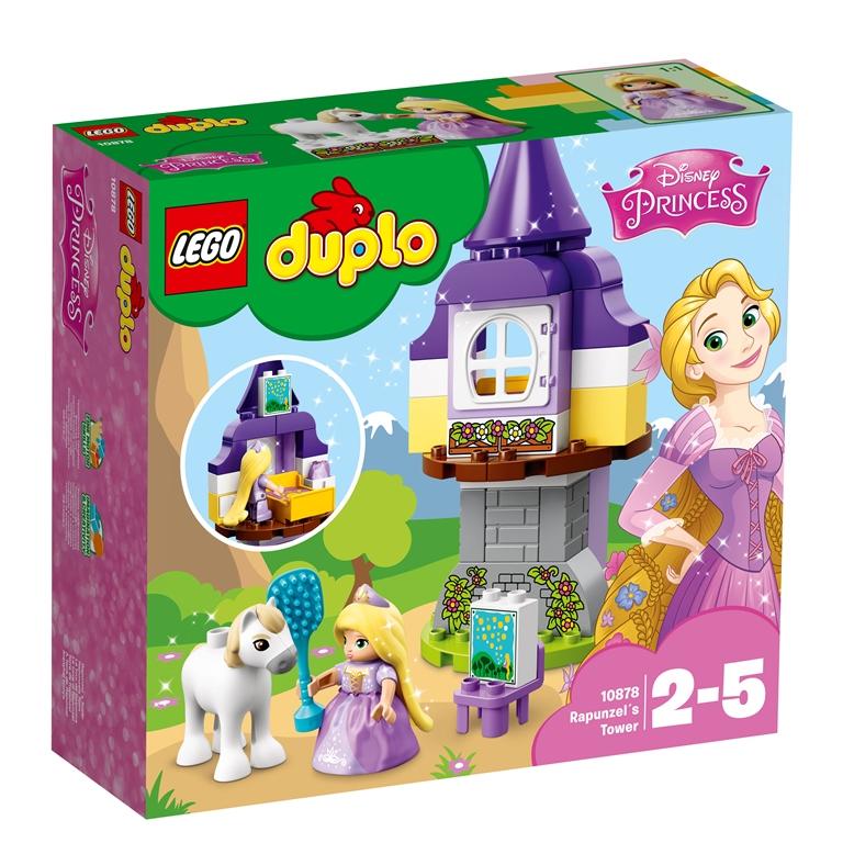 Konstruktorius LEGO DUPLO PRINCESS Auksaplaukės bokštas (10878)