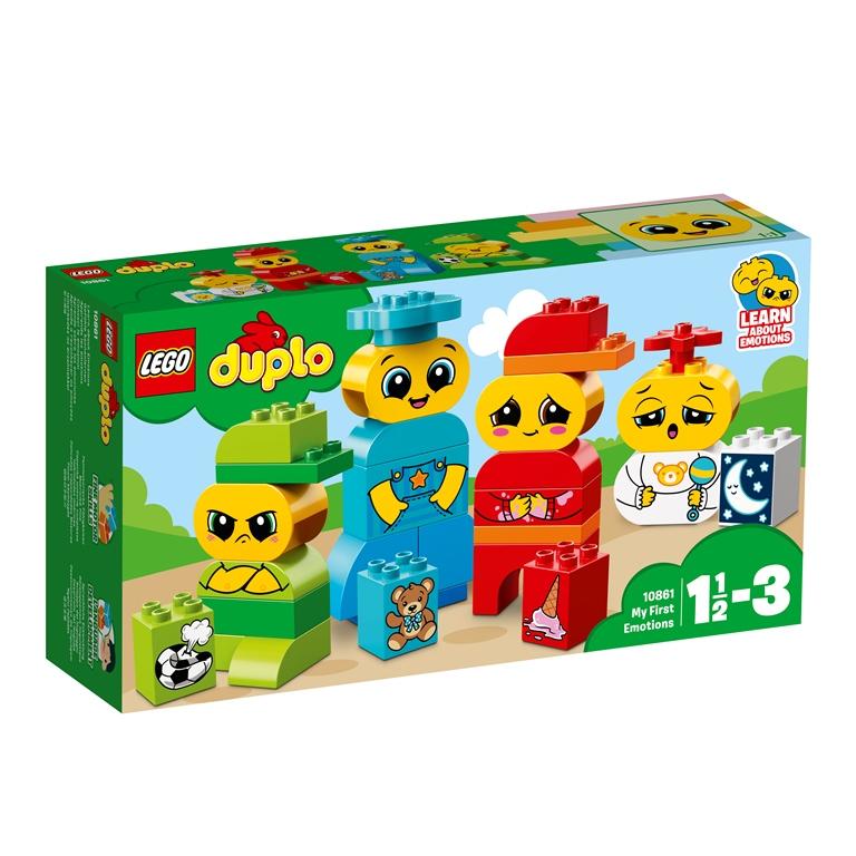 Konstruktorius LEGO DUPLO Mano pirmosios emocijos (10861)
