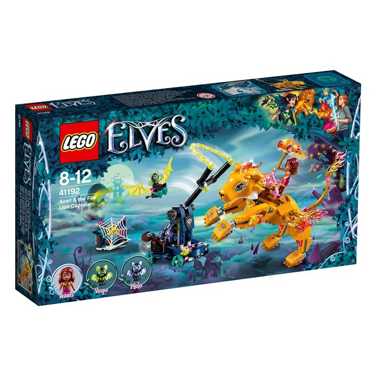 Konstruktorius LEGO ELVES Azari ugninio liūto medžioklė 8-12 metų vaikams (41192)