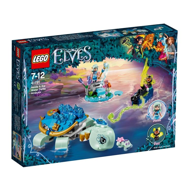 Konstruktorius LEGO ELVES Naida vandens vėžlio pasala 7-12 metų vaikams (41191)