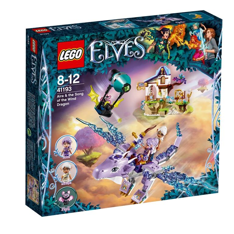 Konstruktorius LEGO ELVES Aira ir vėjo drakono giesmė 8-12 metų vaikams (41193)