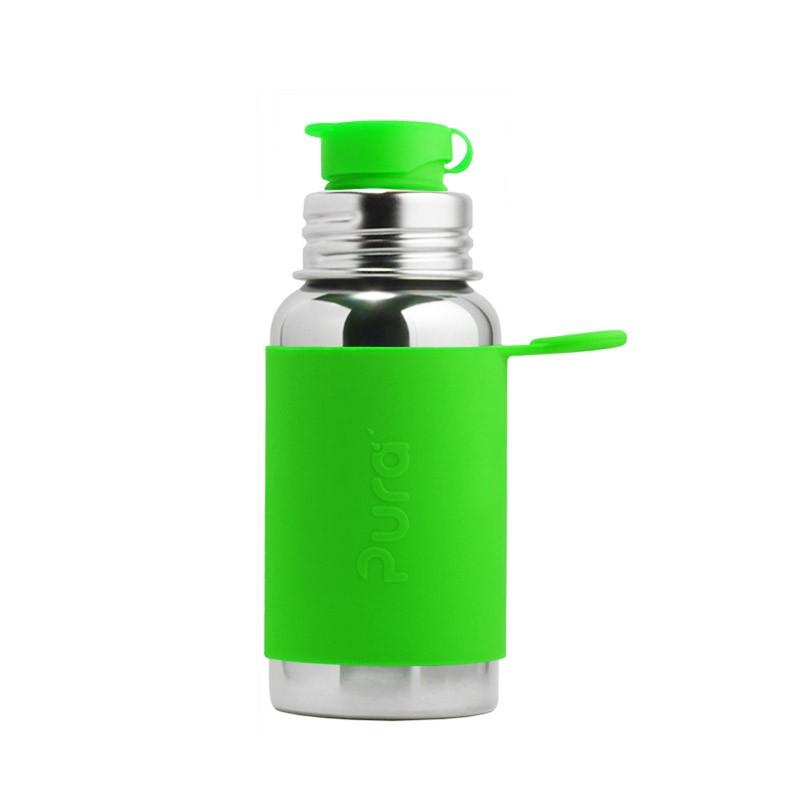 Žalia sportinė gertuvė PURA KIKI, 550 ml