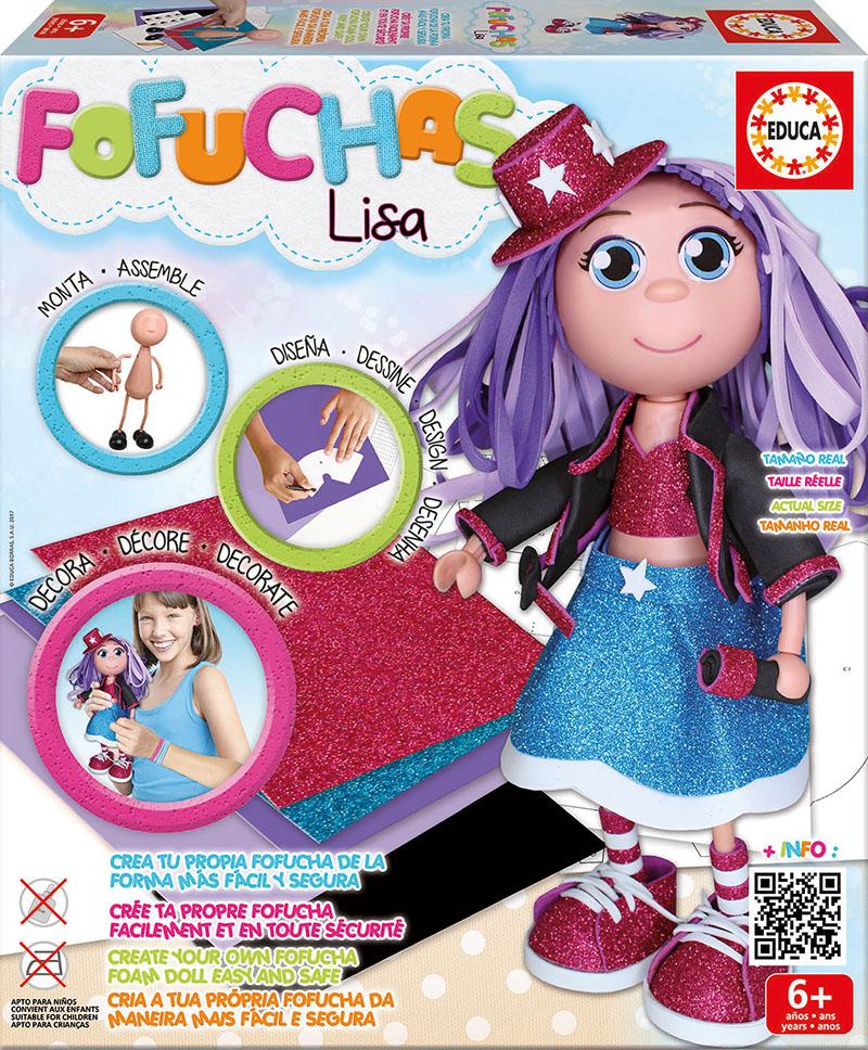 Lėlė EDUCA FOFUCHAS Lisa vaikams nuo 6 metų (17262)