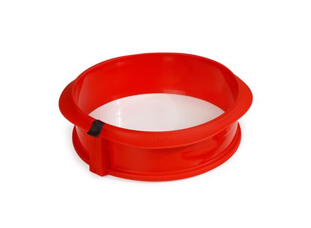 Atsegama kepimo forma su keramikiniu pagrindu (raudona) LEKUE, 23 cm