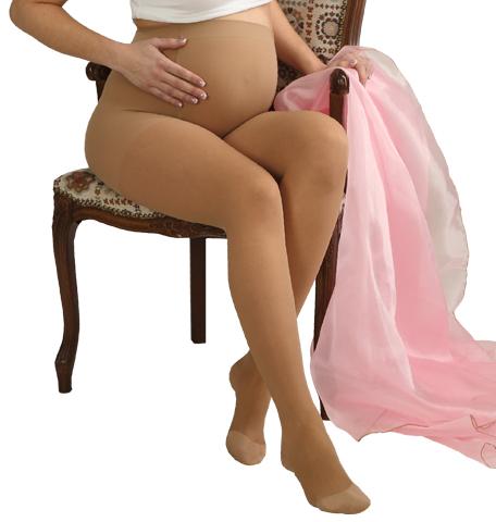 Juodos kompresinės pėdkelnės nėščiosioms TONUS, 1 klasės kompresija, 3 dydis (0405-1K)