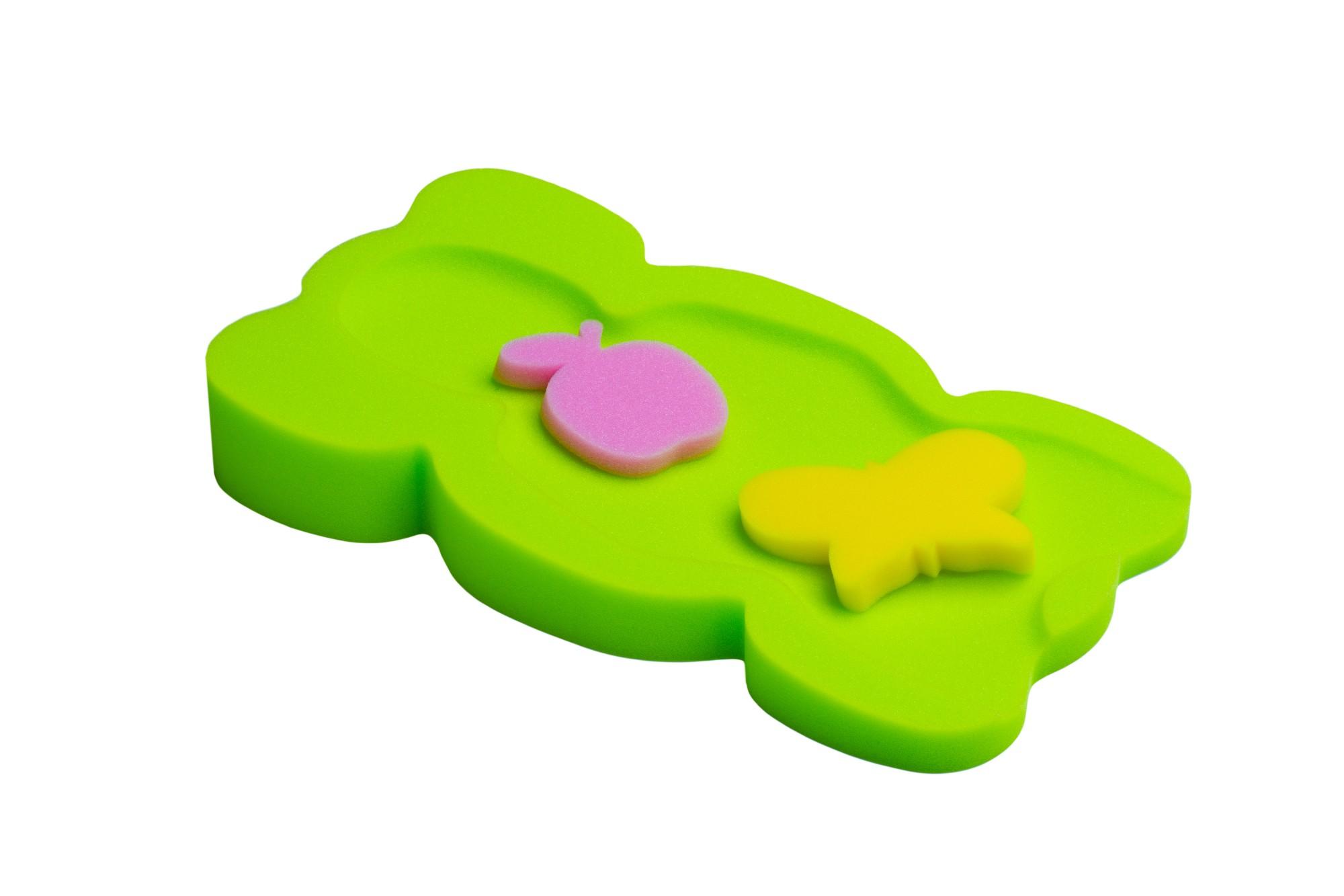 Poroloninis čiužinukas BADUMI Maxi vonelei + 2 kempinėlės