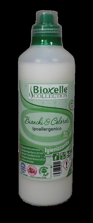 Hipoalerginis skalbimo skystis baltiems ir spalvotiems gaminiams Bioxelle, 1 L