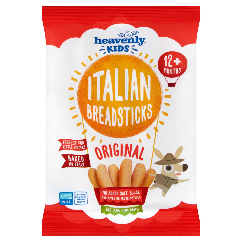 Itališkos duonos lazdelės HEAVENLY Original vaikams nuo 12 mėn., 30 g