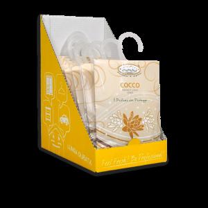 Aromatizuotas pakelis, Kokoso kvapo HygienFresh, 13 gr