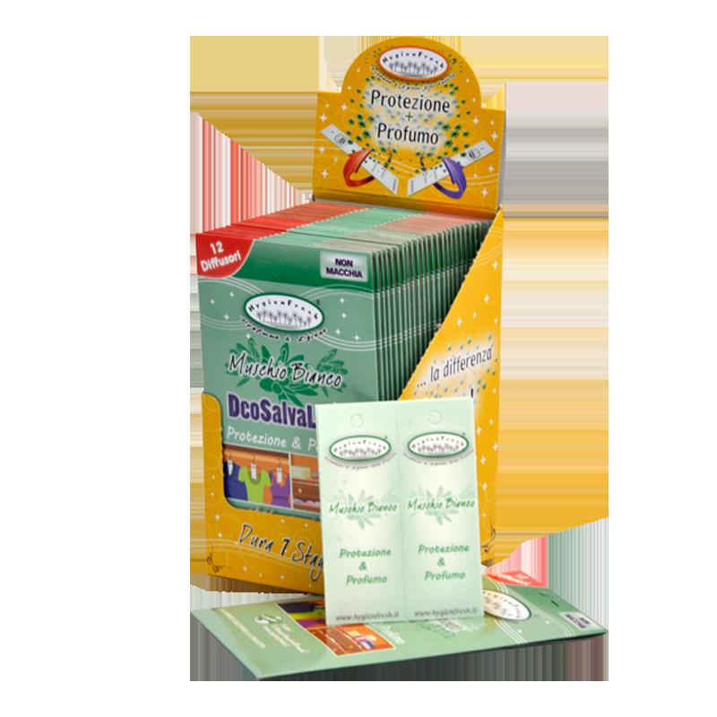 Kvapniosios juostelės vilnai nuo kandžių, DeoSalvaLana, HygienFresh