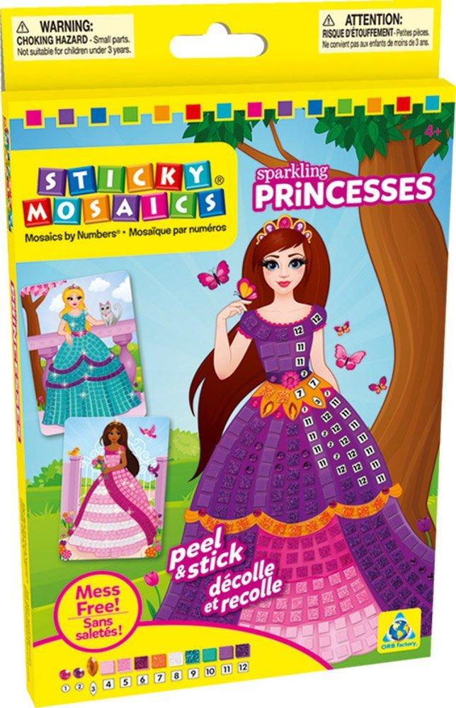 Kūrybinis rinkinys STICKY MOSAICS Princesės vaikams nuo 4 metų (72377)
