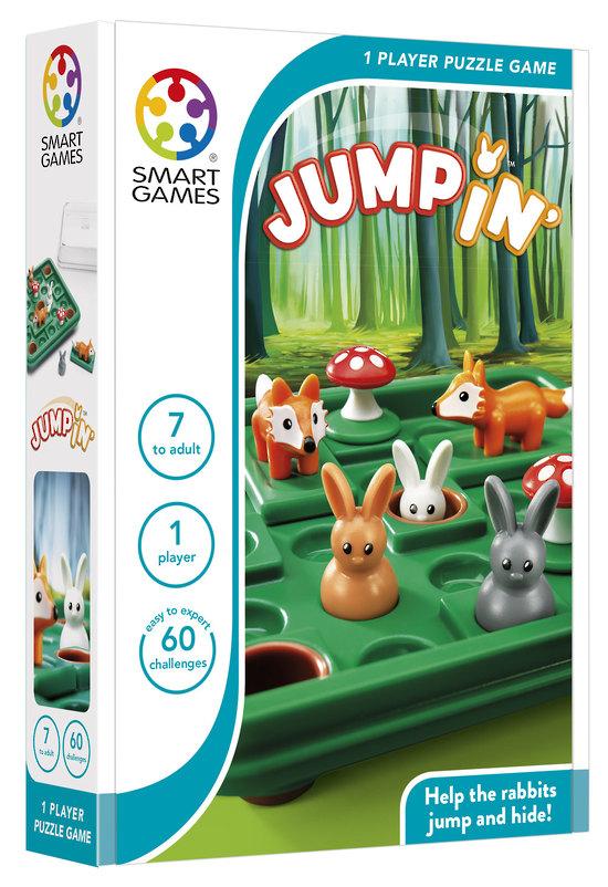 Loginis žaidimas SMART GAMES Jump In' vaikams nuo 7 metų (SG 421)