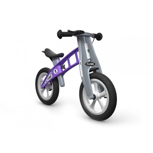 Violetinis balansinis dviratis FIRSTBIKE Street 2-4 metų vaikams
