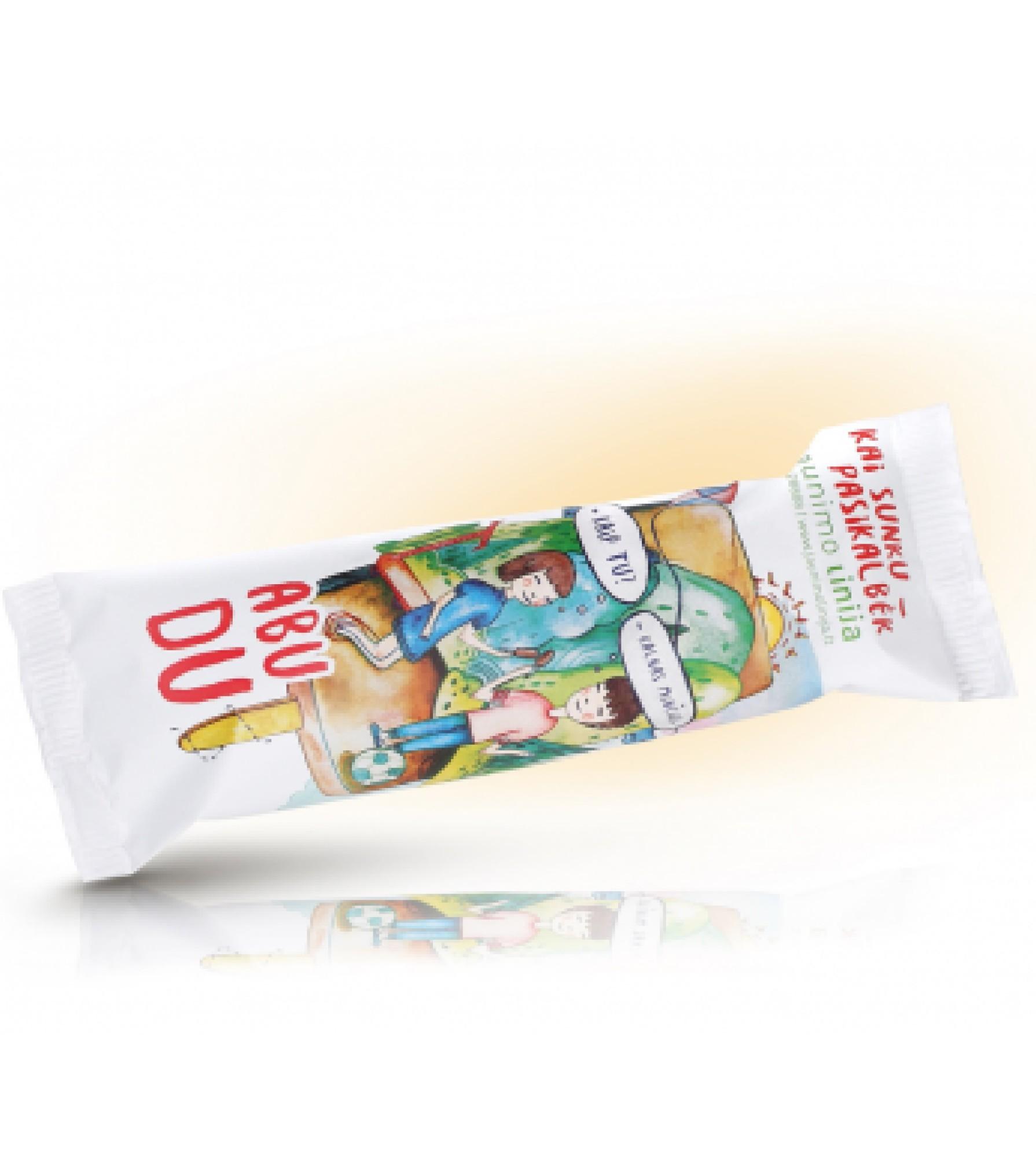 Glaistyti vaniliniai ledai ABU DU, 120ml