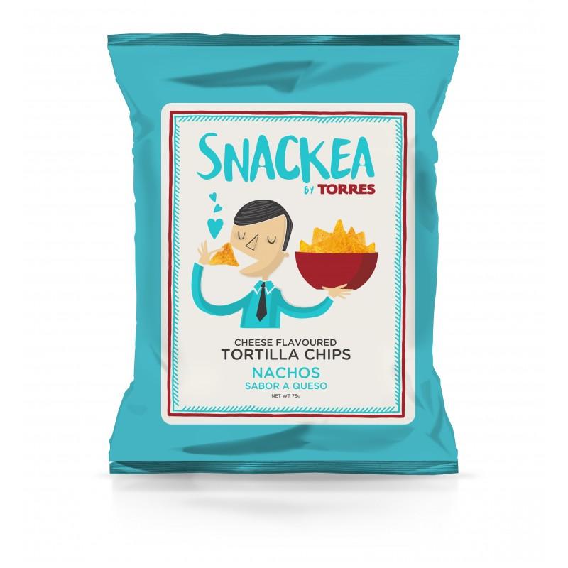 Sūrio skonio kukurūzų traškučiai TORRES Tortilla Chips, 75g