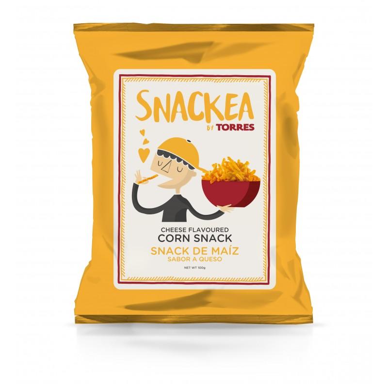 Sūrio skonio kukurūzų traškučiai TORRES Corn Snack, 100g
