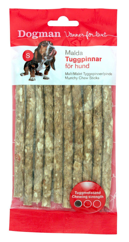 DOGMAN kramtalas šunims (traškios lazdelės) Munchy Chew Sticks