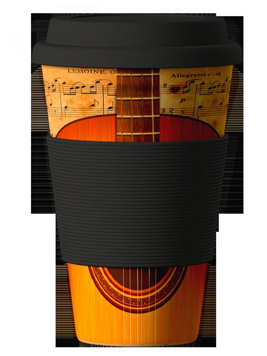 Bambukinis puodelis Guitar