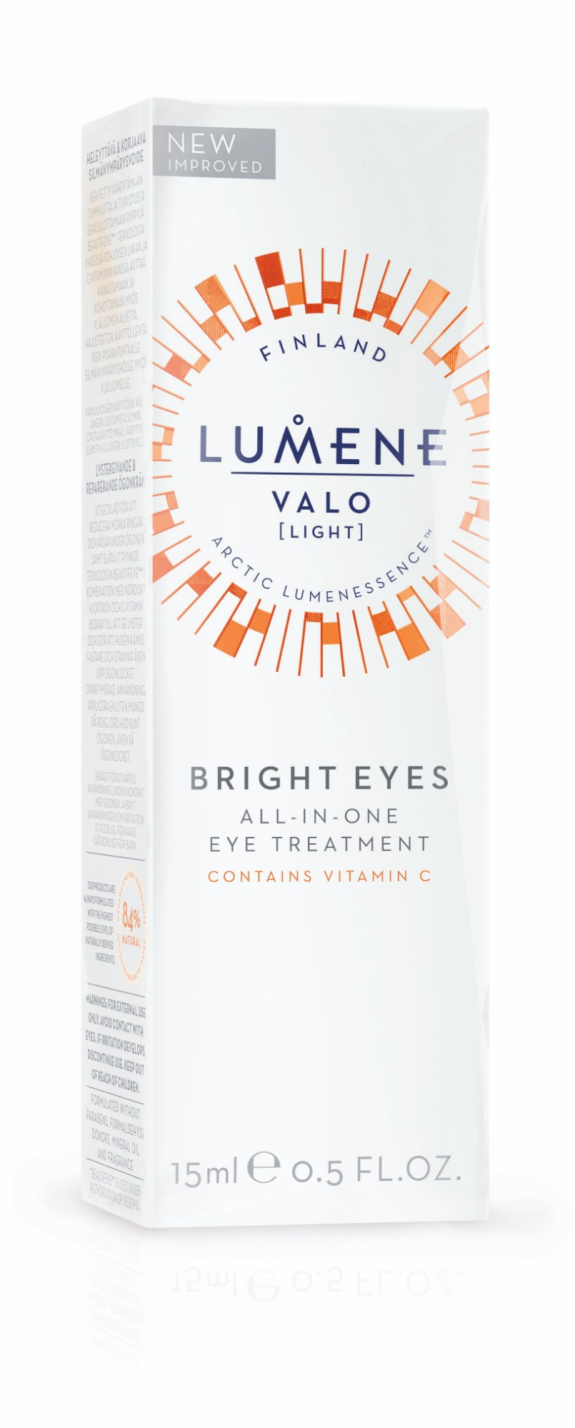 Paakių kremas LUMENE VALO Bright All-in-One, 15 ml