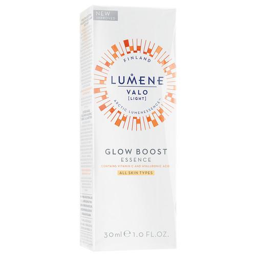Hialurono rūgšties esencija LUMENE VALO Glow Boost Vitamin C, 30 ml