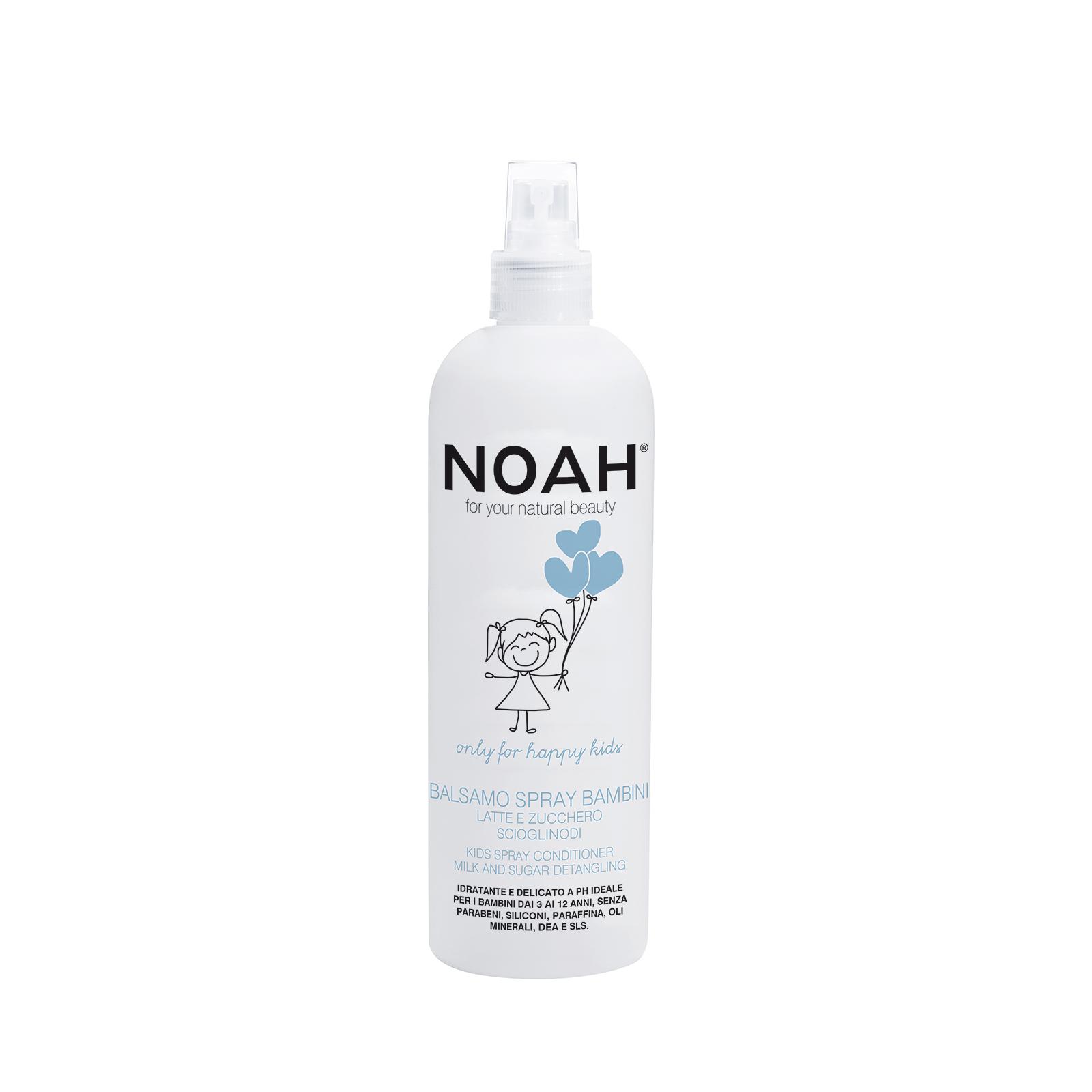 Vaikiškas balzamas plaukams NOAH su pienu ir cukrumi, 250 ml