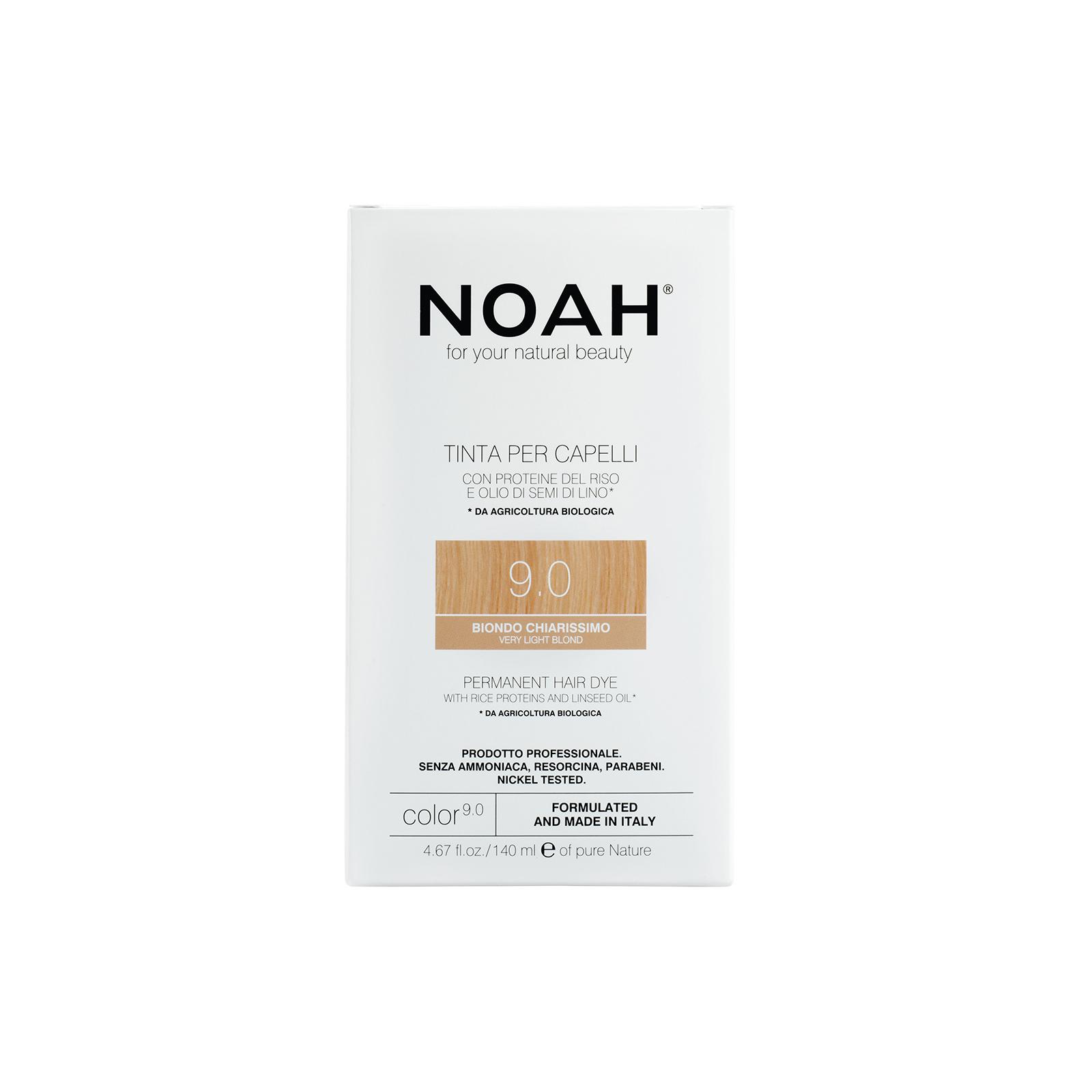 Plaukų dažai NOAH (9.0 labai šviesi blondinė), 140ml