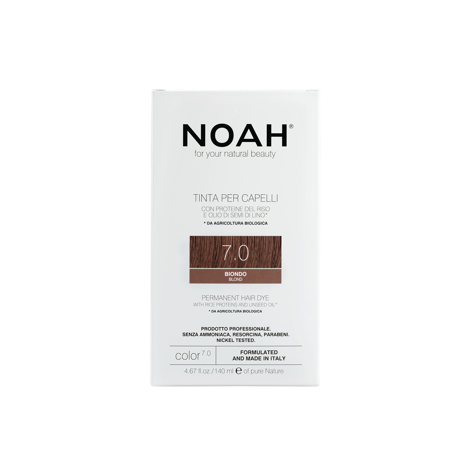 Plaukų dažai NOAH (7.0 blondinė), 140ml