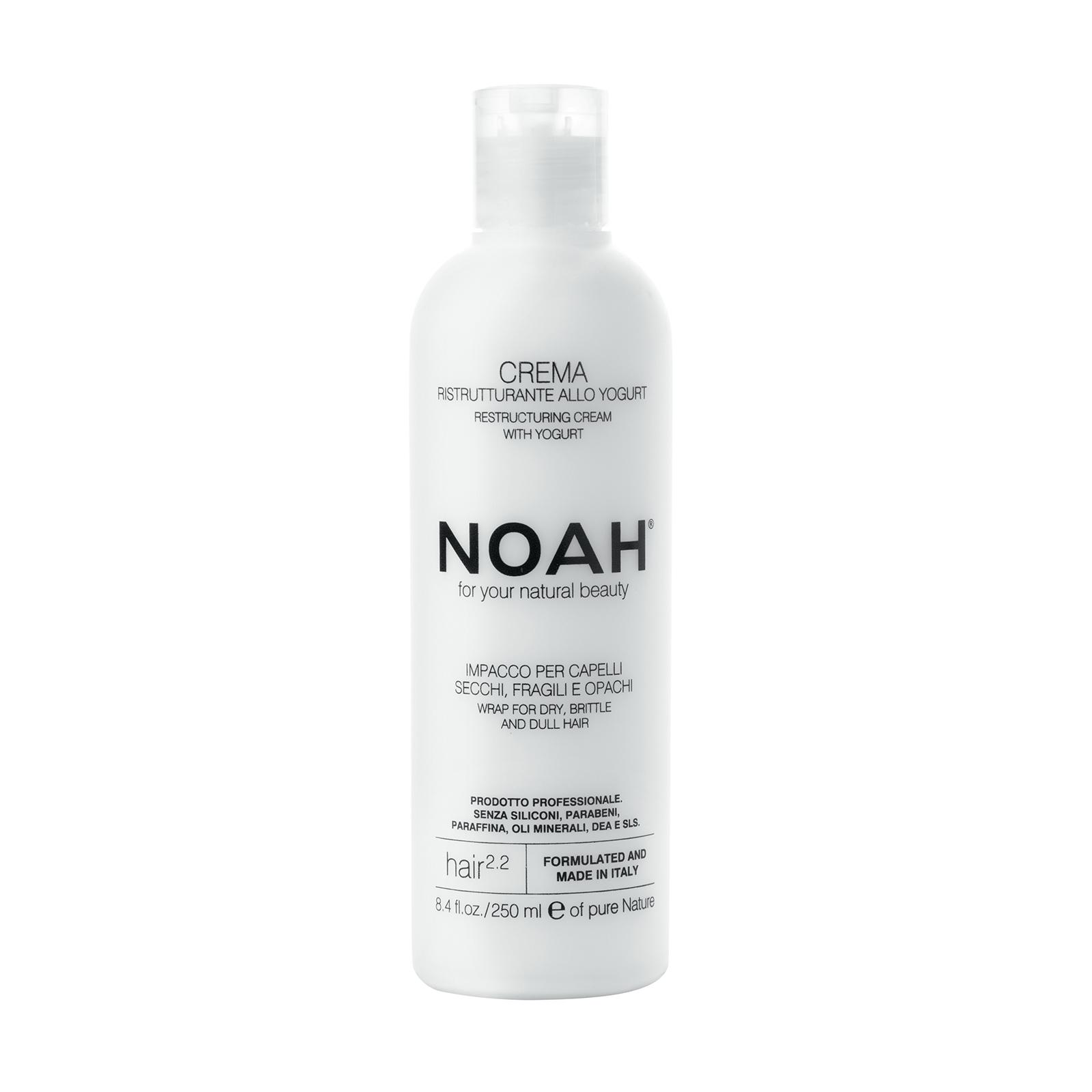 Atstatomoji kaukė NOAH sausiems ir pažeistiems plaukams, 250 ml