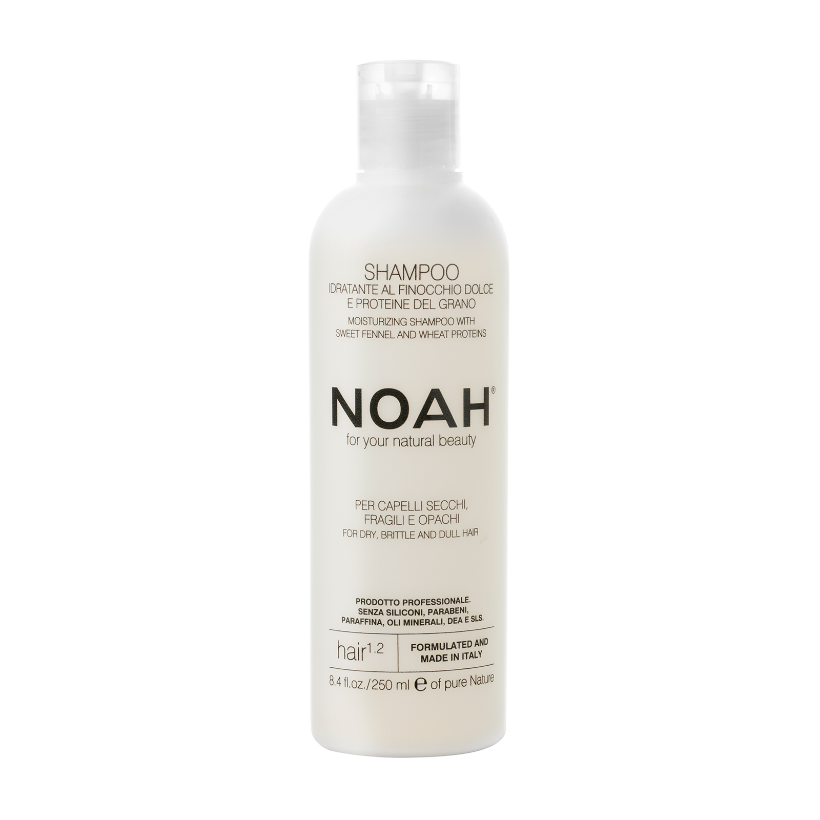 Šampūnas NOAH sausiems ir lūžinėjantiems plaukams, 250 ml