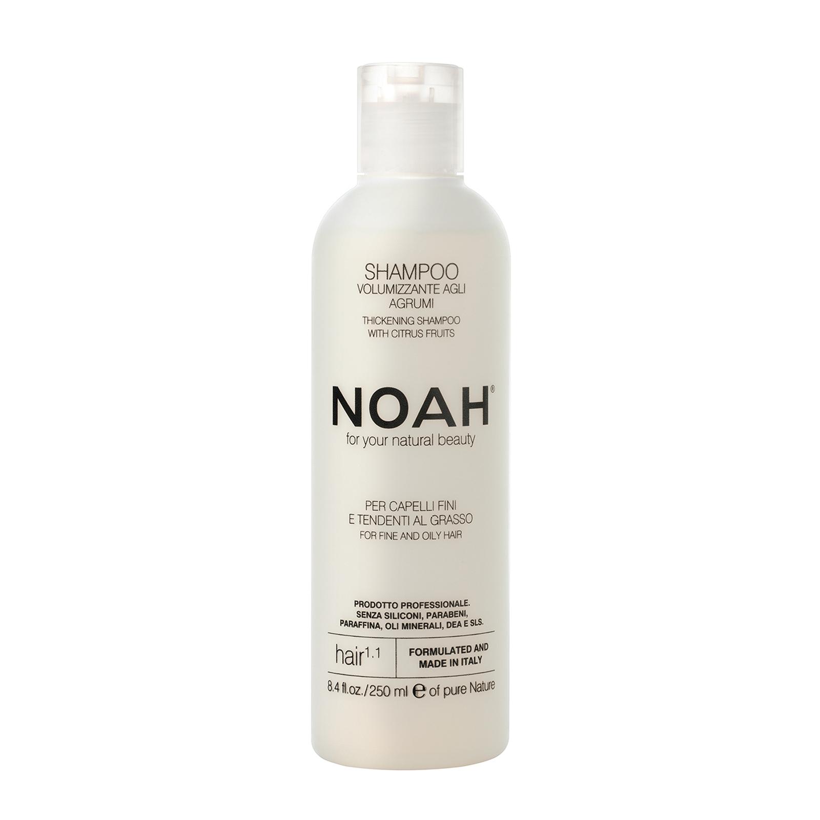 Šampūnas NOAH riebiems ir ploniems plaukams, 250 ml