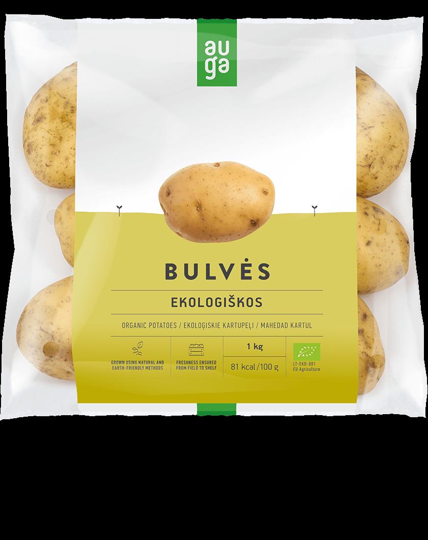 Ekologiškos bulvės AUGA, 1kg
