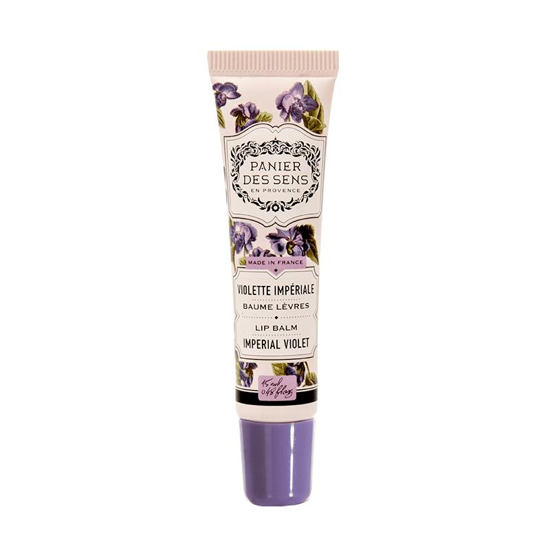 Lūpų balzamas PANIER DES SENS Imperial Violet, 15 ml