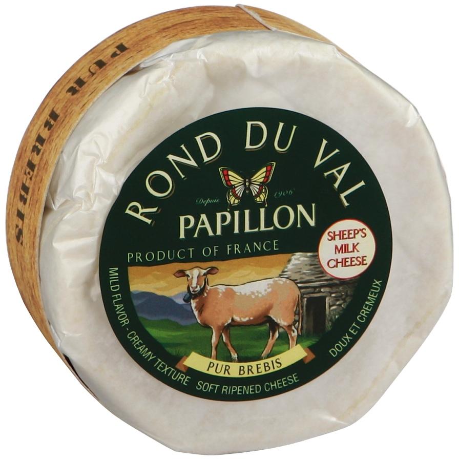 Sūris Rond du Val PAPILLON, 150g