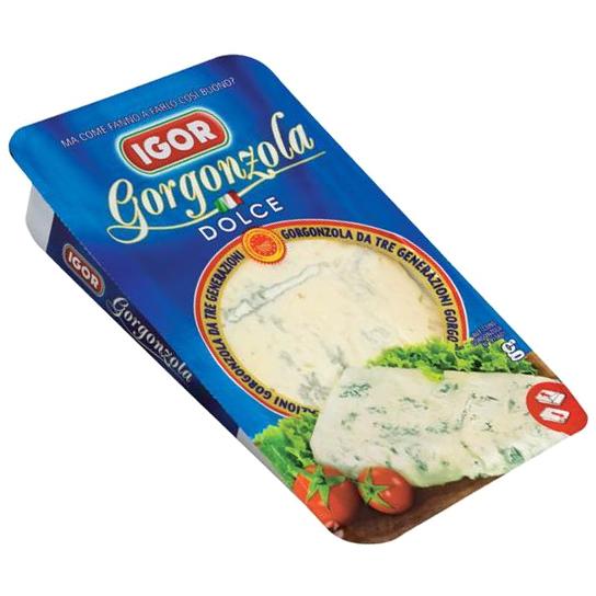 Sūris Gorgonzola Dolce IGOR, 200g