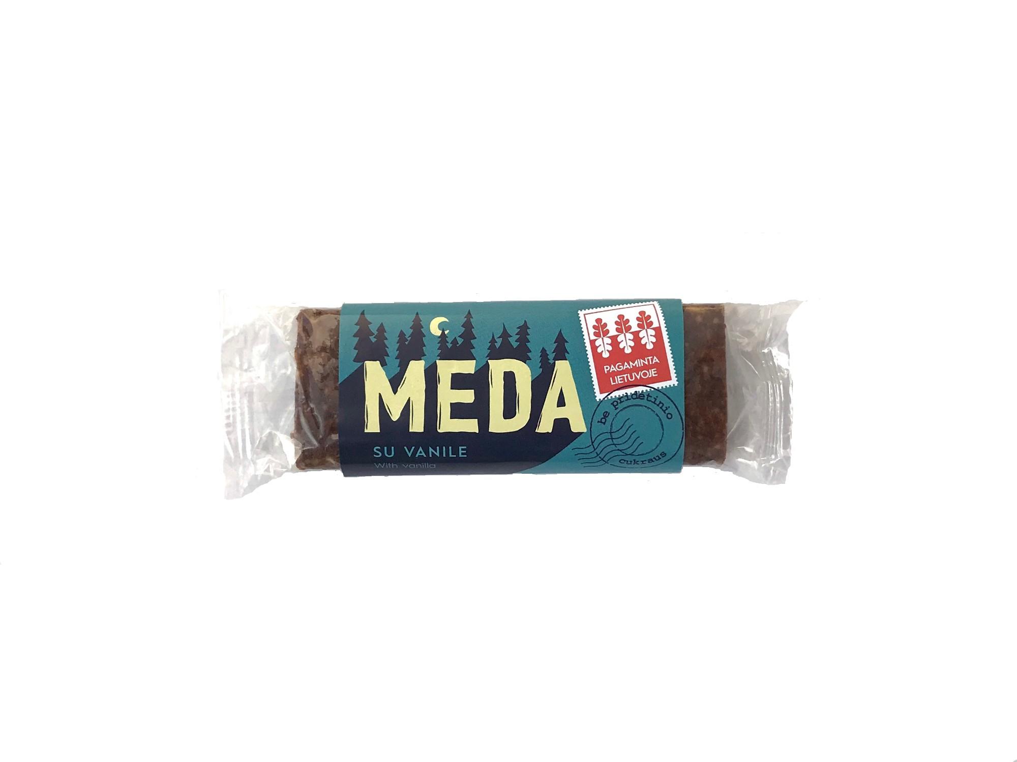 Energinis batonėlis MEDA su vanile, 50g
