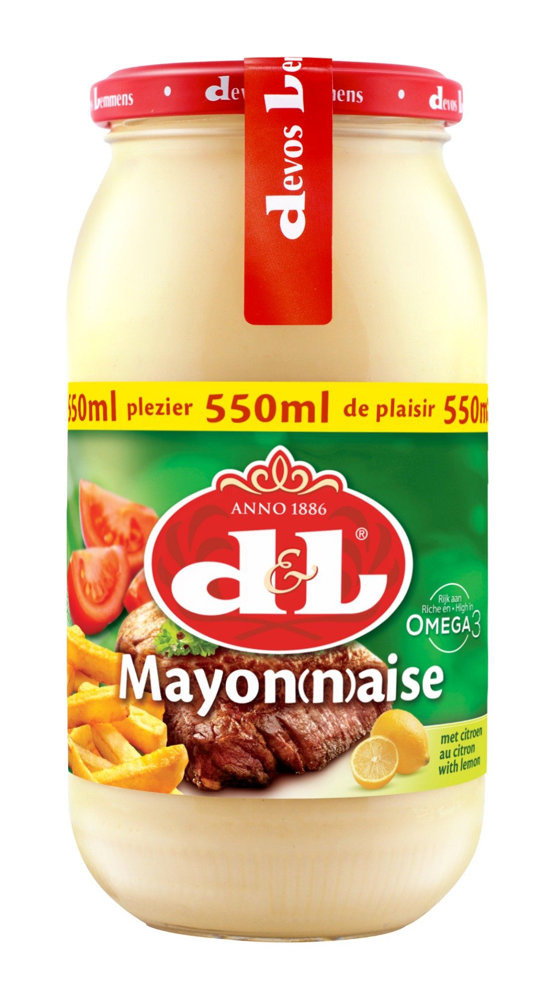 Majonezas su citrina, D&L, 550ml