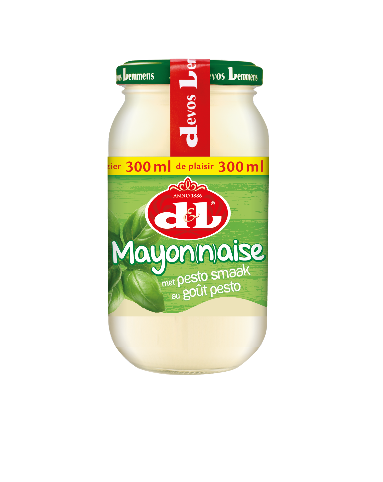 Majonezas su PESTO, D&L, 300ml