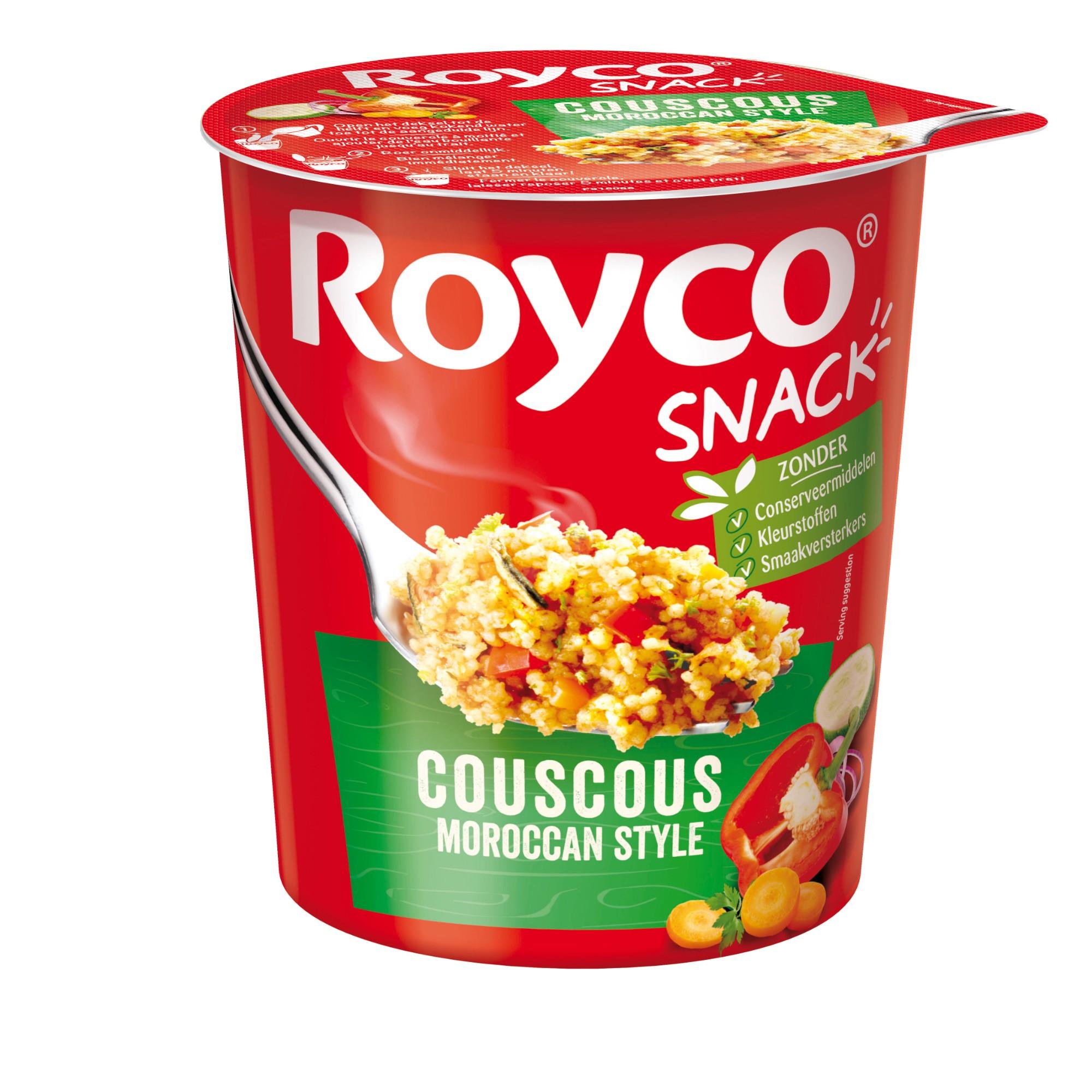Greitai paruošiamas Marokietiškas kuskusas, ROYCO, 1 indelis (70g)