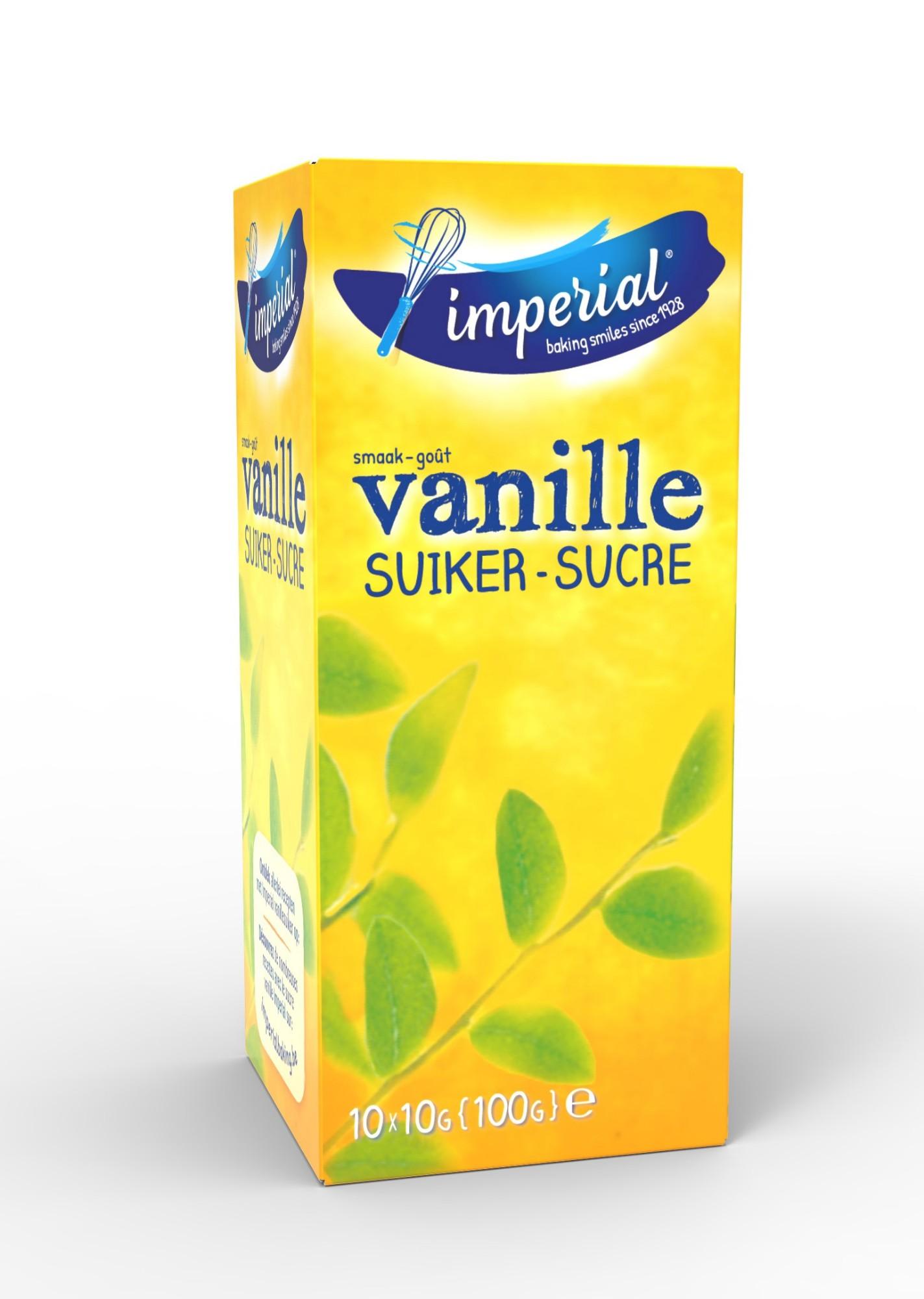 Vanilinis cukrus, IMPERIAL, 10x10g