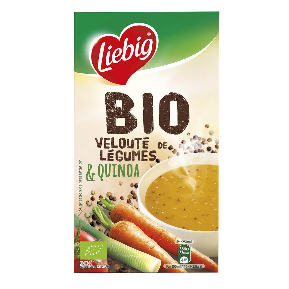 Ekologiška daržovių sriuba su bolivine balanda ir grietinėle, LIEBIG, 1L