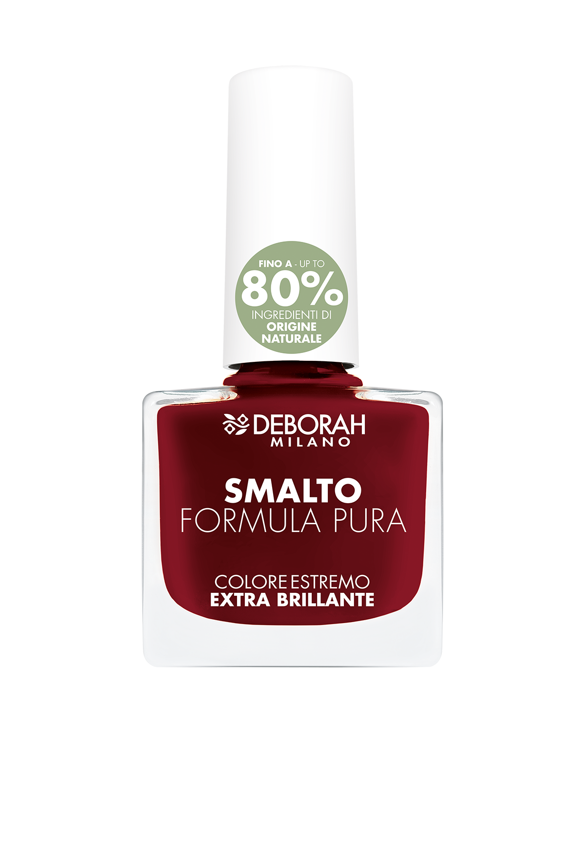 Nagų lakas DEBORAH FORMULA PURA 14 DARK RED, 8,5 ml